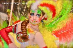 Sitges Carnaval Rua Disbauxa india by Sitges - Imágenes de Sitges, via Flickr
