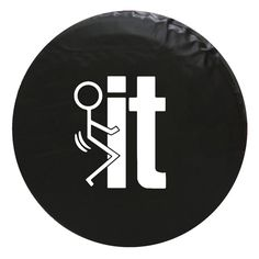 F*ck It Jeep SUV Vinyl Spare Tire Cover - $69.99 Dreams2things #f*ckit #tirecover  #jeeptirecover