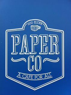 Taft Street Coffee has been reincarnated inside the new Ecclesia church as Paper Co.