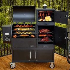 This Ultimate Grill Features Square Feet Of Cooking Area - Louisiana Grills Champion Pellet Grill - Giant BBQ Smoker Grill Area, Bbq Area, Bbq Grill, Grilling, Asado Grill, Barbecue Smoker, Convection Cooking, Cooking Grill, Wood Pellet Grills