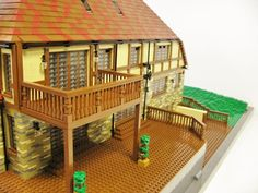 Mock Tudor House: A LEGO® creation by MortalSwordsman . : MOCpages.com