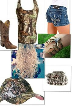I absolutely love this outfit. Country girls!!!!!