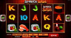 So Much Sushi on Microgaming kasino kolikkopeli netissä! Pelissa on mahdolisuus kaikkilla voitta isot rahasummat. Kolikkopelissa löydät valtava grafiikka, erilaiset bonuspelit, 5 rullat ja 25 voittolinjat.