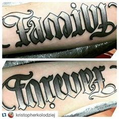 Ambigram Tattoos Ideas - Tattoospedia
