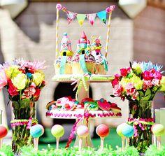 Kindergeburtstag Feiern Dekorieren Torte Minigolf Thema