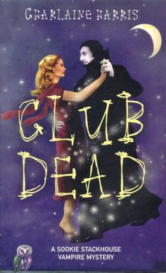 Club Dead is the third book in Charlaine Harriss series The Southern Vampire Mysteries, released in 2003. Description from commsrecycling.com. I searched for this on bing.com/images