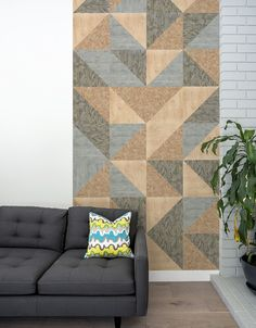 "Inspired by popular building materials, Faux texture decals bring visual interest to any wall. Made with Blik Re-Stik, these 13"" x 13"" decals are easy to install. And for your convenience, Faux decals are sold per sheet and not as a set so you can order whatever number of decals you need to complete your design project. Use one texture or have some fun and combine with Faux OSB Re-Stik, Faux Ply Re-Stik or Faux Concrete Re-Stik. All BLIK decals are removable, but Re-Stik decals are the only…"