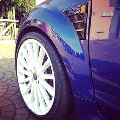 #Ford #focus #fordfocusrsmk2 #mk2 #rs #fordfocusrs #bluperformance #ksport #whitewheel #clean #rik #rikrs