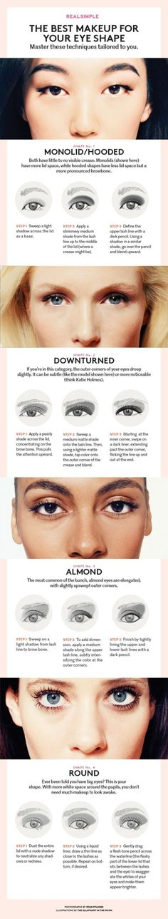The Best #Makeup Routine for Your Eye Shape ...