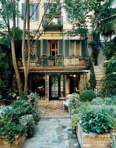 Traditional Garden by Studio Peregalli and Studio Peregalli in Milan, Italy