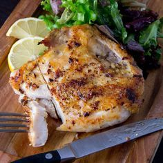 Always Perfect Bone-In Chicken Breasts Recipe on Food52 recipe on Food52