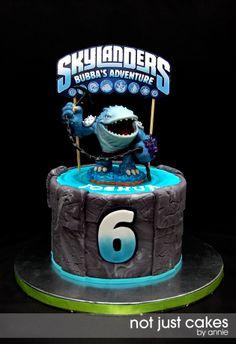 Bubba's Thumpback Skylander's Cake