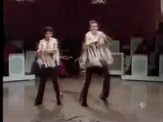 """From 1981, here's dancers Elaine Balden and Bobby Burgess putting a little soul into this episode of the Lawrence Welk Show, they dance to the big band arrangement of Wilson Pickett's """"Land of a Thousand Dances"""""""