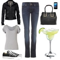 Me, I'm more of a converse and t-shirt kind of girl. Anastasia celebrating at the bar with Kate.