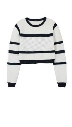Tibi Sailor Striped Sweater $350