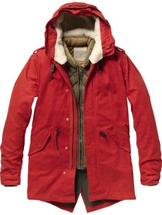 Love it!   Outdoor parka with inner jacket - Jackets - Scotch & Soda Online Shop