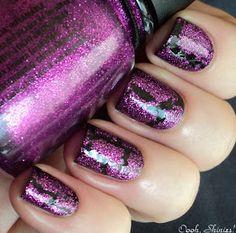 China Glaze Crackle Glitters - Glam more