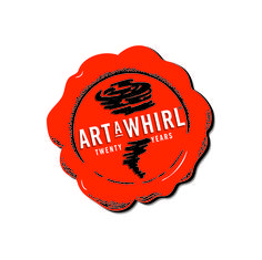 This is the 20th year anniversary logo for Art-A-Whirl, Minneapolis' premier art event.