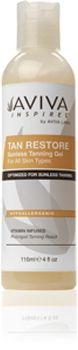Hedlux - Aviva Inspires™ Tan Restore Sunless Tanning Gel, $33.00     #spraytan #beauty #tanning #avivainspires #avivalabs    Use code: LUXLOVE for 25% retail purchases.  (http://www.hedlux.com/aviva-inspires-tan-restore-sunless-tanning-gel/)