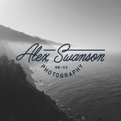 """Finished up this logo for @alex__swanson last week. Really happy how it turned out, it's always fun doing projects like this for friends #logo #script"""