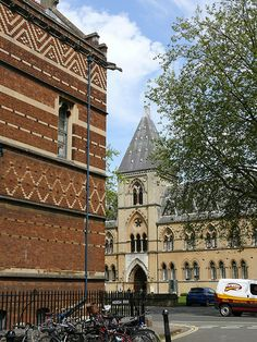 Keble College & Museum of Natural History, Oxford  - Architect: William Butterfield, 1876.