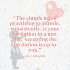 Beautiful quotes about the amazing power of gratitude from author Josie Robinson. #gratitude #selfcare Gratitude Jar, Practice Gratitude, Gratitude Quotes, Attitude Of Gratitude, Gratitude Journals, Self Fulfilling Prophecy, Move Mountains, Uplifting Quotes, Negative Thoughts