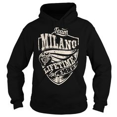 Team MILANO Lifetime Member (Dragon) - Last Name, Surname T-Shirt