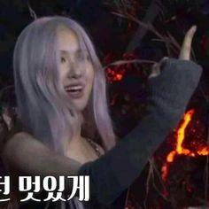 Blackpink Memes, Funny Kpop Memes, Cute Memes, Meme Faces, Funny Faces, Famous Memes, Chuu Loona, Baby Pink Aesthetic, Blackpink Funny