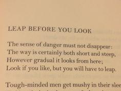 W.H. Auden poem
