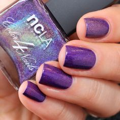Nailpolis Museum of Nail Art | NCLA Lolanthe Swatch by nathalie lapaillettefrondeuse