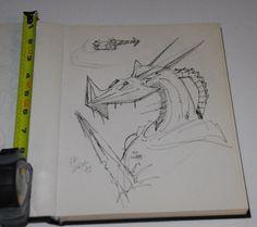 Kevin O'Neill Nemesis the Warlock 1992 San Diego Comic Con Full page Splash Art   eBay