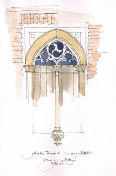 Verona, gotisches Fenster, I | by JochenSchittkowski