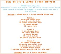 Cardio Circuit Workout -get fit ANYwhere BY EnjoyYourHealthyLife,com