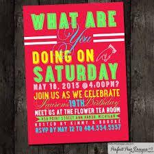 Resultado de imagen para neon party invitation ideas
