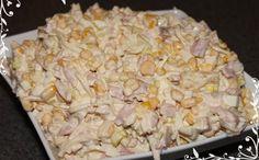 Sałatka z wędzonym kurczakiem Pepperoni, Feta, Grains, Rice, Pineapple, Recipies, Seeds, Laughter, Jim Rice