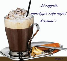 Eiskaffee, where have you been all my life! Iced Coffee, Coffee Maker, Tableware, Hot, Desserts, Smiley, Night, Coffee Making Machine, Emoticon