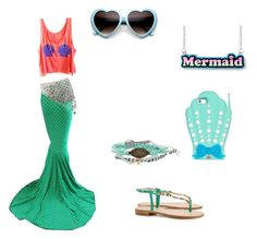 """""""Mermaid #2"""" by cloudysky321 on Polyvore featuring Disney"""