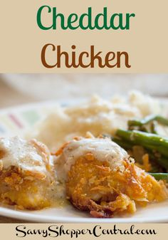 Baked Cheddar Chicken-4 large chicken breasts, cut into large chunks 1 cup of crushed cheese-its 1 cup of crushed saltines ½ cup panko bread crumbs 1 egg ½ cup milk 2 cups shredded cheddar cheese ¼ cup olive oil 4 TBSP salted butter 3 TBSP flour salt, pepper, and garlic powder, to taste. 1 tsp parsley ¼ tsp sage 2 cups hot water 2 tsp condensed chicken base 2-3 TBSP Marsala wine ½ cup heavy cream ¼ cup sour cream