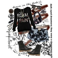 """Dancin in the Dark"" by brittneygrace on Polyvore"