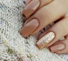 Fall Nail Art Ideas Designs #colors #nails | Lovika