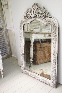 Old french Napoleon 3 mirror <3