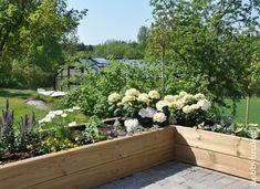 Hobbybruket: Sol, sommer og ny blomsterkasse :) Planters, Deck, Backyard, Exterior, Garden, Outdoors, Google, Patio, Garten