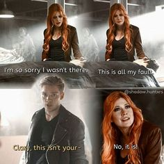 """#Shadowhunters 1x08 """"Bad Blood"""" - Clary and Jace"""