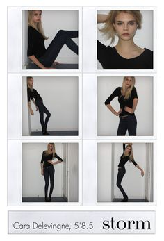 model [amazing model polaroids]