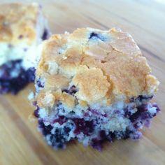 Buttermilk Blueberry Coffee Cake