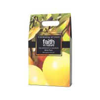 Faith in Nature Grapefruit & Orange Mini Pack  Known for their cleansing qualities, this wonderfully uplifting blend of Grapefruit and Orange is bursting with citrus fruit aromas to energise your day.  A gorgeous gift, and at a handy 100ml, they're ideal to take away with you on your travels.  Contains Grapefruit & Orange Shampoo (100ml), Grapefruit & Orange Conditioner (100ml) and Grapefruit & Orange Shower Gel & Foam Bath (100ml).  - £8.99 -