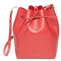 Mansur Gavriel Bucket Bag Calf Coated
