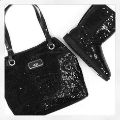 Ugg Boots and Purse