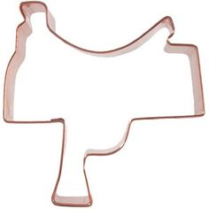 saddle cookie cutter = saddle cookies!