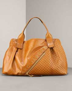 Marc Jacobs 'Quilted Signature Leather' Irina Tote in Brown C363028 $995USD